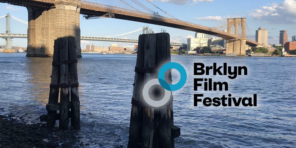 Brooklyn Bridge and the Brooklyn Film Festival logo