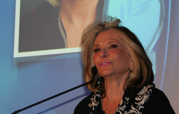 Sheila Nevins, President of HBO Documentary Films, at the Athena Film Festival 2015