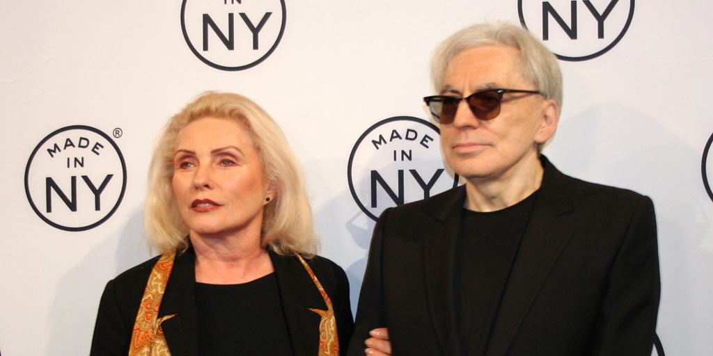 Debbie Harry and Chris Stein at the Made in New York Awards