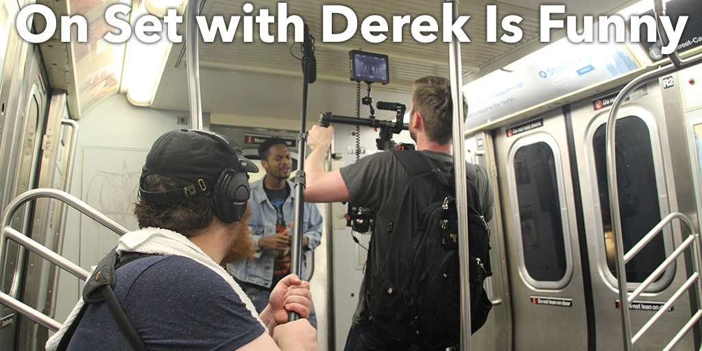 On Set with Derek Is Funny