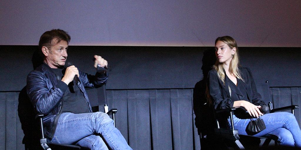 Director/Actor Sean Penn and Actress Dylan Penn