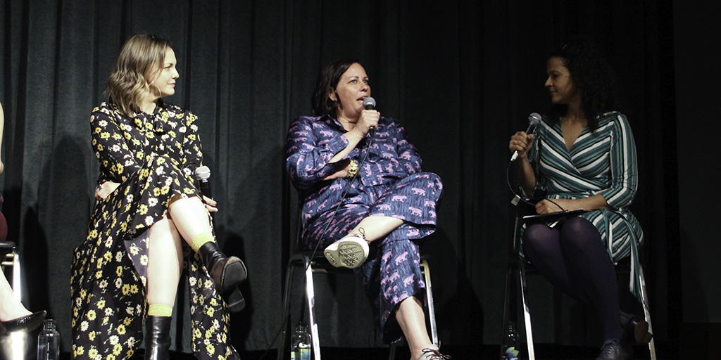 Larisa Oleynik, Patty Carey, and Alison Stewart