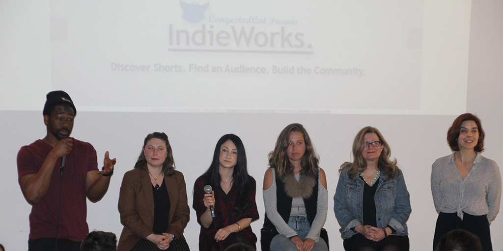 Q&A at the February 2017 IndieWorks at the Local NYC in Long Island City.