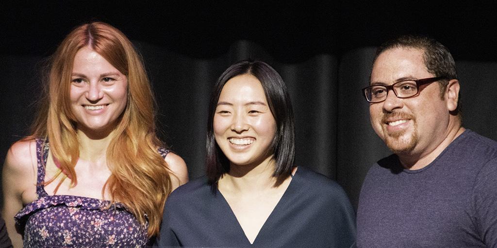 Schann Mobley, Grace Kim, Victor Cruz