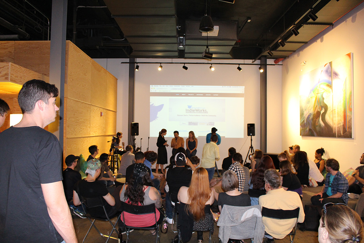 IndieWorks at The Local NYC in Long Island City, Queens on June 14, 2016.