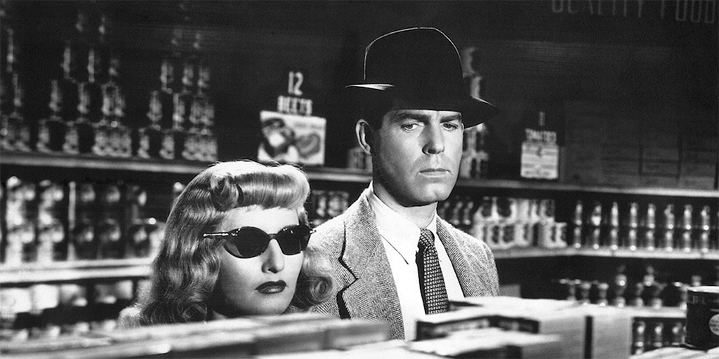 Still from Double Indemnity featured at The Inaugural Dr. Saul and Dorothy Kit Film Noir Festival