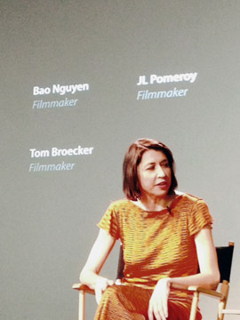 IndieWire Editor-in-Chief and panel moderator Dana Harris