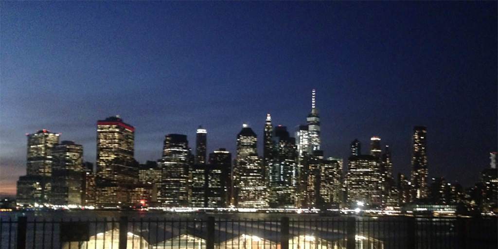 View of Manhattan from Brooklyn Heights