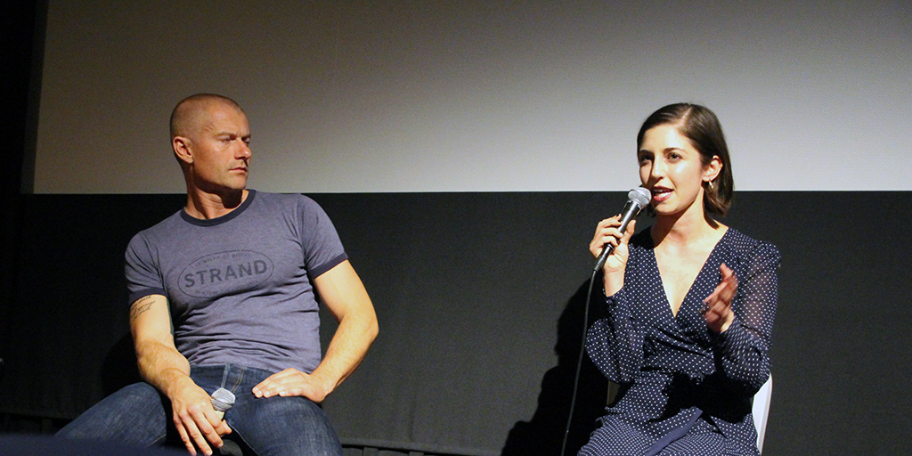 James Badge Dale and Annabelle Attanasio