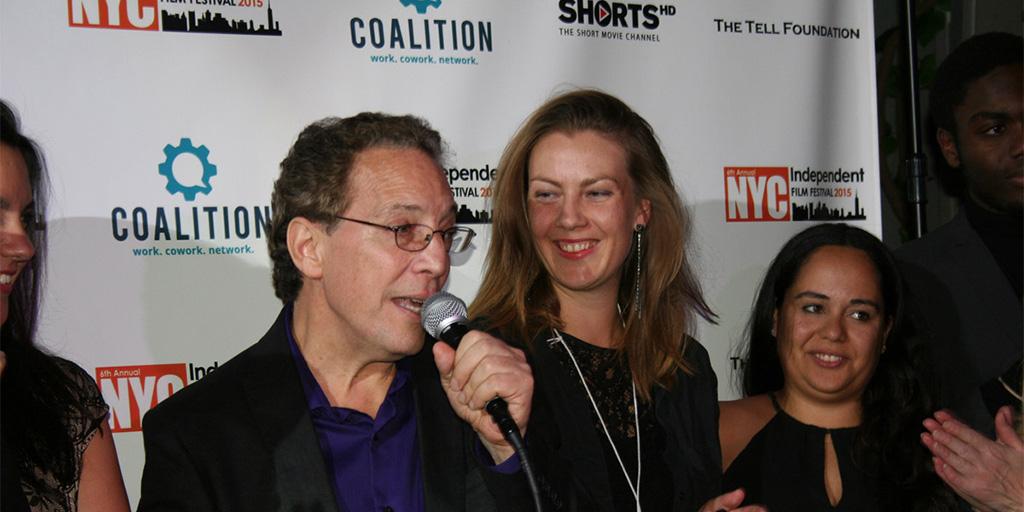 Festival Founder Dennis Cieri speaking at the 2015 Awards Ceremony
