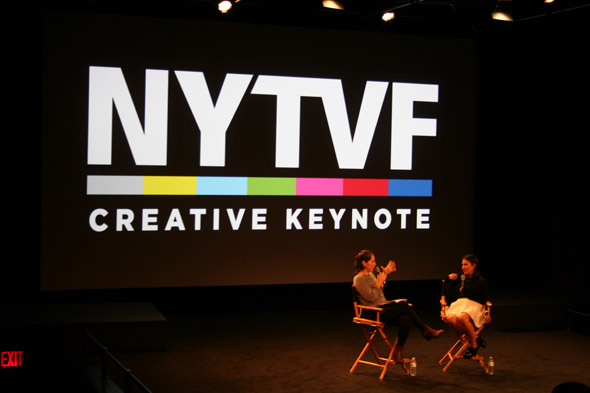 New York Television Festival 2014 photo of Creative Keynote with Girls showrunner Jenni Konner