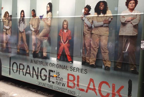 Orange is the New Black bus art