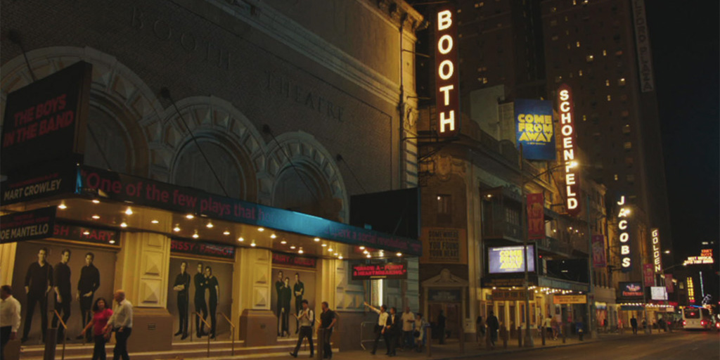 Screen shot from On Broadway