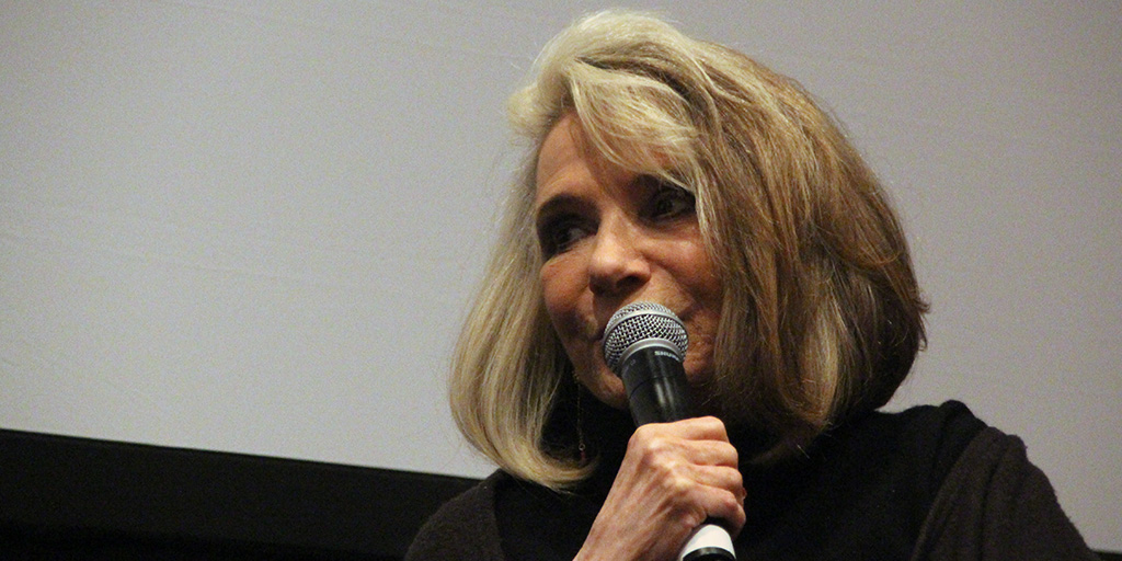 Sheila Nevins at the 2017 Athena Film Festival.