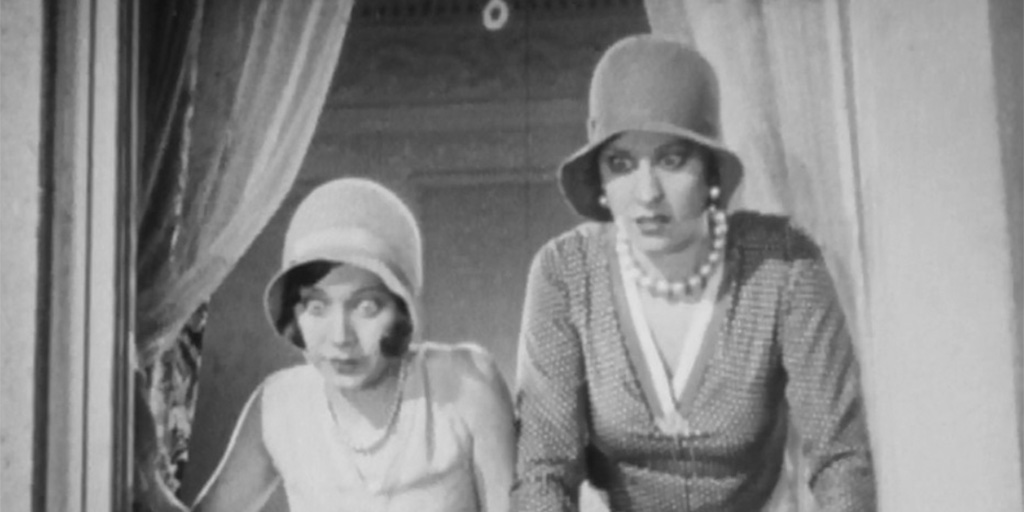 Image from Hal Roach Studios' A Pair of Tights.