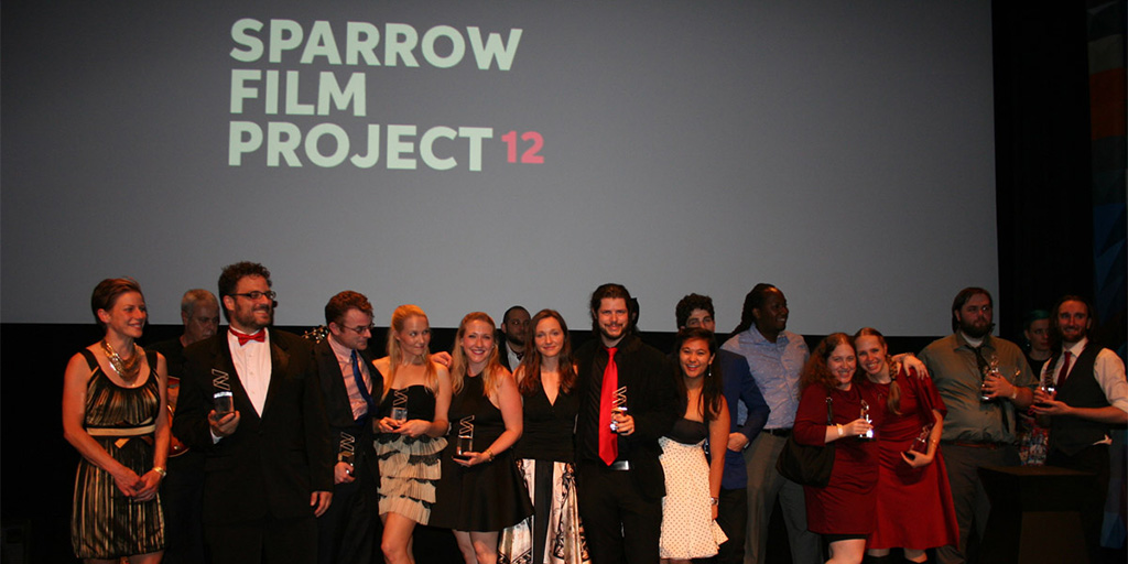 Award winners at the 2015 Sparrow Film Project Gala