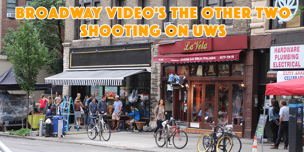Broadway Video's The Other Two Shooting on UWS