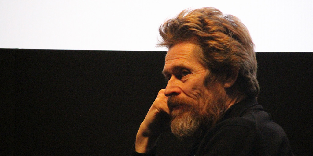 Willem Dafoe at the Australian International Screen Forum at Lincoln Center - March 20, 2018